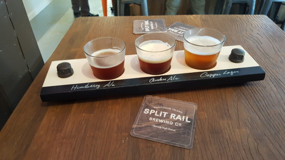 Beer tasting Split Rail