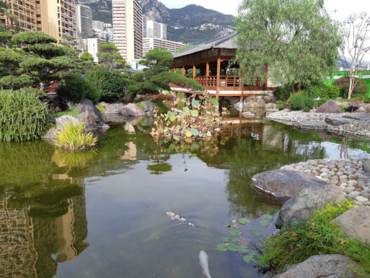 Depicting Japanese Garden Monaco