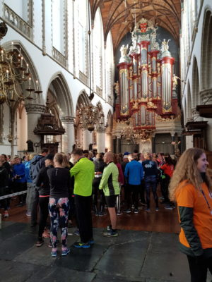 Runners gather in St Bavo for start of Urban Trail