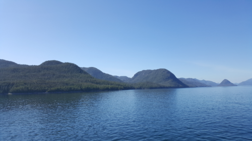 Beauty and nature along the Inside Passage - British Columbia on the way to Prince Rupert